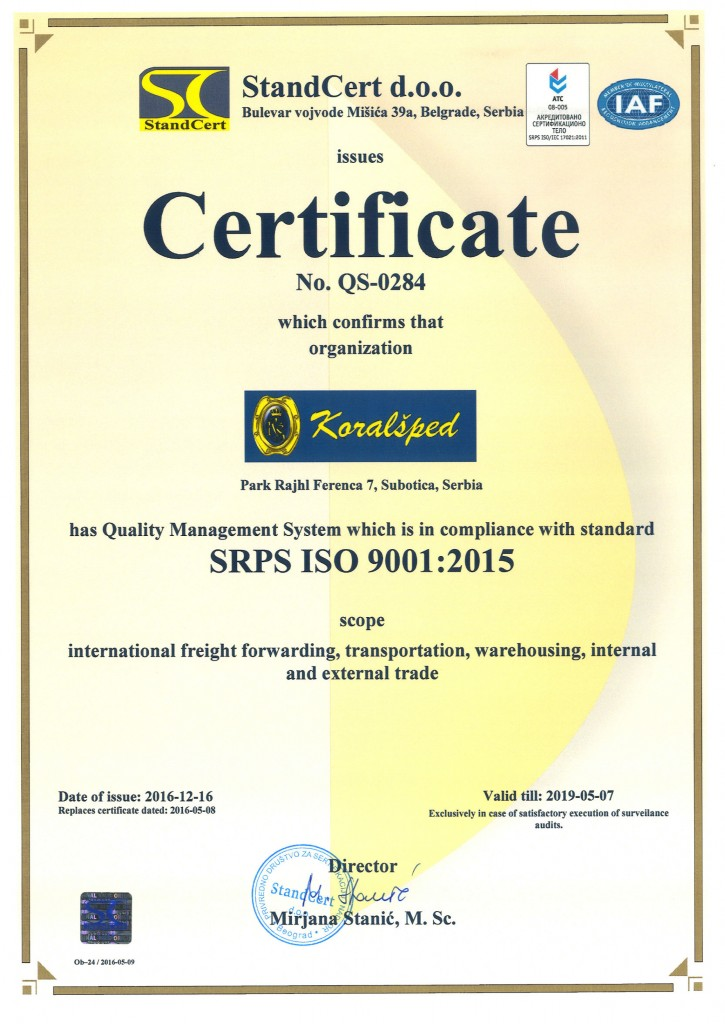 CERTIFICATE---SRPS-ISO-9001--2015-12
